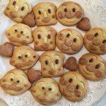 アンパンマンおにぎりの型でアンパンマンクッキーの作る方法