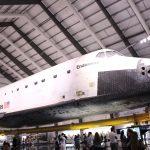 本物のスペースシャトルが見学できるカリフォルニア・サイエンスセンター